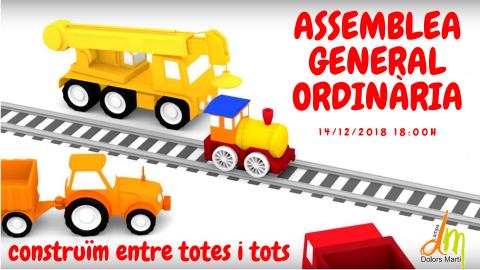 ASSEMBLEA GENERAL ORDINÀRIA 2018